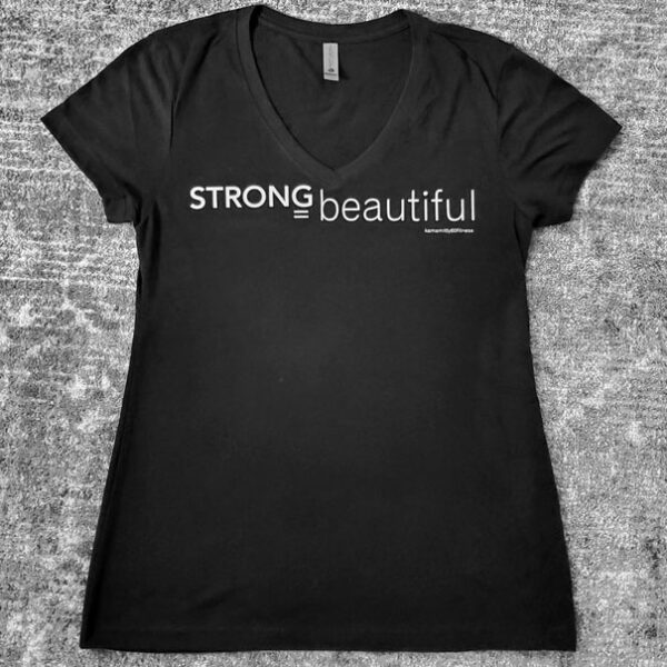 Strong = Beautiful V-Neck