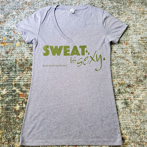 Sweat Is Sexy - V-Neck